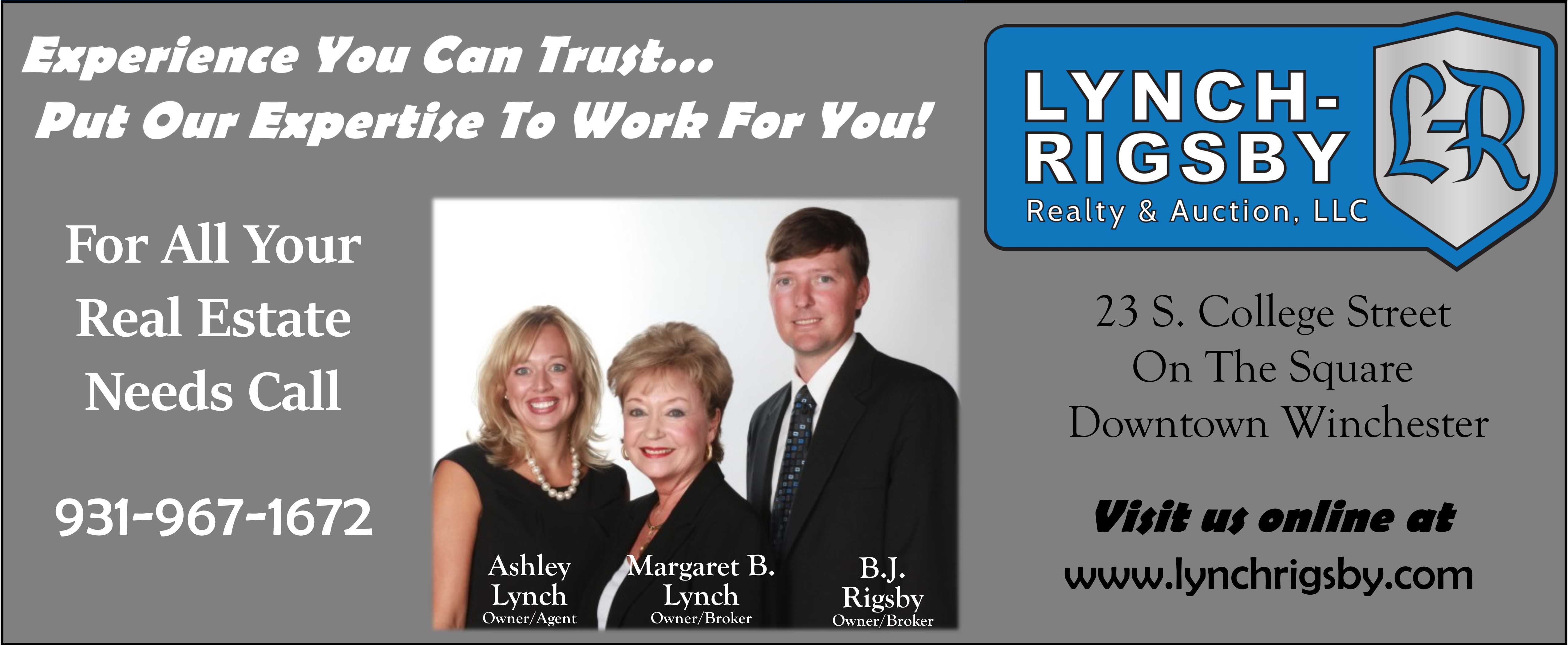 Lynch-Rigsby Realty & Auction, LLC